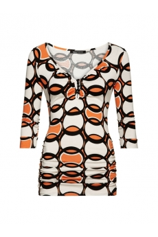 Expresso Shirt Aaike orange